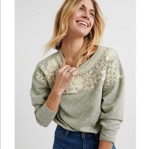 Lucky Brand | Novelty Mint Pullover